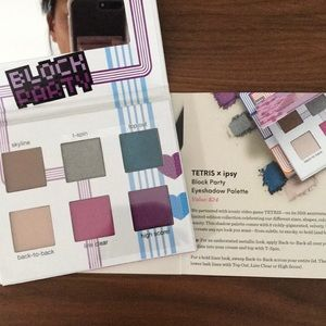 Tetris Ipsy block party eyeshadow palette